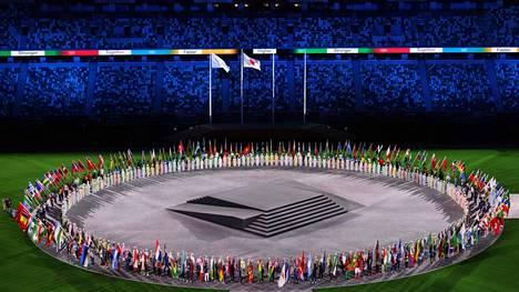 Olympialaiset päättyivät sunnuntain päättäjäisiin olympiastadionilla.