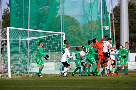 MuSa voitti EIF:n 1–0. Porilaisten maalin teki Juho Montola.