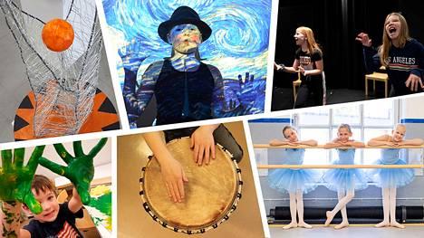 Valkeakoskella taiteen eri osa-alueiden halutaan vaikuttavan aktiivisesti lasten ja nuorten hyvinvointiin ja laajemmin koko kaupungin kulttuurielämään. Esimerkiksi kuvataide- ja käsityökoulu Emilin oppilaat maalaavat uuden vapaa-aikakeskuksen työmaa-aidalle iloisen ilmeen.
