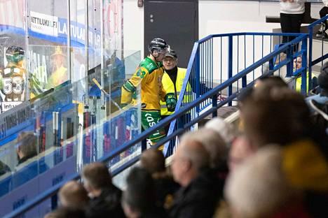 Panu Miehon ottelu päättyi Mikkelissä taklaukseen, joka satutti pahasti Patrik Puistolaa.