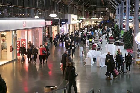Lempäälän Ideaparkin asiakasmäärä on ollut tänä vuonna 7,2 miljoonaa.