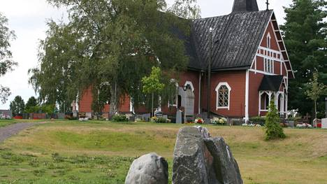 Vampulan kirkko on  rakennettu vuonna 1894.