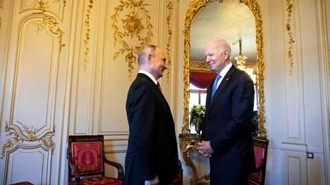 Venäjän presidentti Vladimir Putin ja Yhdysvaltain presidentti Joe Biden tapasivat keskiviikkona Genevessä.