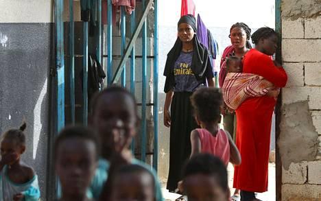 Unicefin mukaan viimeaikaisissa joukkopidätyksissä on otettu kiinni noin 750 naista ja 250 lasta.