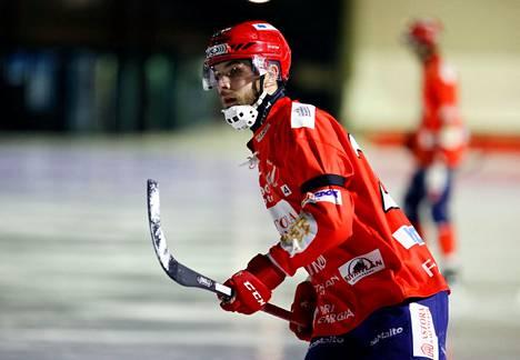 Kasper Perdén pelaa Porissa myös tulevalla kaudella.