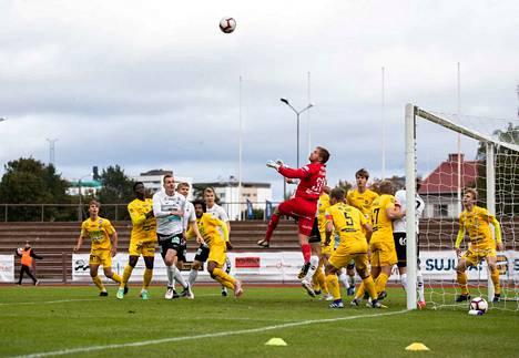 AC Oulu murskasi MuSan lukemin 4–0.