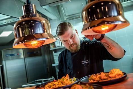 Bistro Yvonnen annoksissa yhdistyvät hienostuneet maut ja silmänruoka.