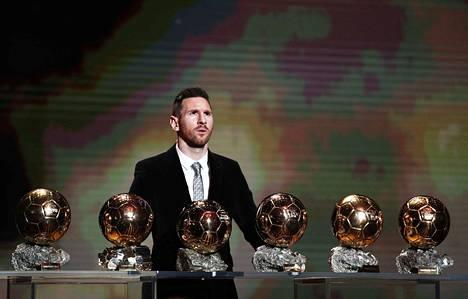 Lionel Messi on voittanut Kultaisen pallon kuudesti urallaan.