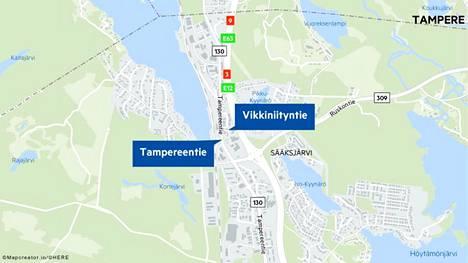Sisä-Suomen poliisin mukaan jäteato törmäsi pyöräilijään Tampereentien ja Vikkiniityntien risteyksessä Lempäälässä keskiviikkona aamupäivällä.