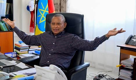 Tigrayn alueen johtaja Debretsion Gebremichael on vahvistanut tiedot, joiden mukaan alueen joukot ovat iskeneet myös naapurimaa Eritrean alueelle. Arkistokuva.