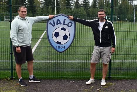 Sten Kaldma ja Lembit Rajala tekivät paluun Mänttään 30 vuoden tauon jälkeen.