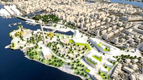 Särkänniemen asemakaavan muutoksessa mahdollistetaan uuden rantakaupunginosan rakentaminen ja alueen liittäminen nykyistä paremmin Tampereen  keskustaan.