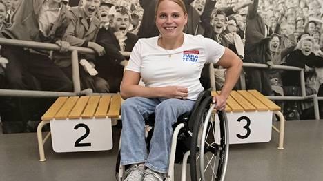 Vampulan Urheilijoiden Amanda Kotaja kuuluu Team Finland -ryhmään.