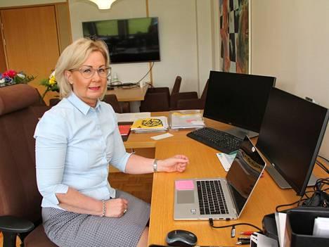 Mänttä-Vilppulan kaupunginjohtaja Anne Heusala aloitti virassaan maanantaina 7. kesäkuuta.
