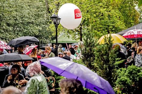 Sdp juhli 120-vuotista taivaltaan Turussa lauantaina.