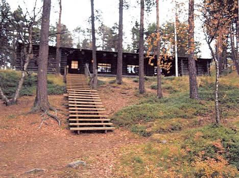 Karjalan lennosto järjesti sidosryhmilleen harjoituksen Lemmenjoen Lapinmajalla syyskuussa 2017.