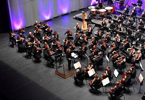 Tamperelaiset soittivat kaksi konserttia Montpellierin Le Corumissa.
