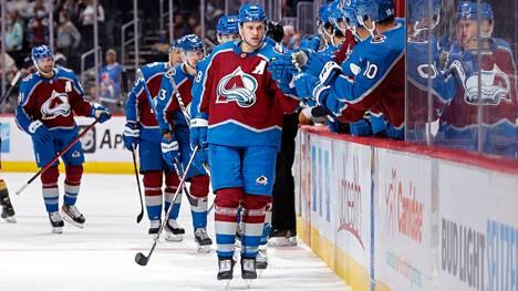 Mikko Rantanen on maalivireessä NHL-kauden kynnyksellä. Hän teki kolme osumaa harjoituskaudella.