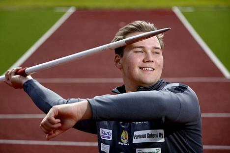 Kankaanpään Seudun Leiskun keihäänheittäjä Teemu Narvi lähtee alle 19-vuotiaiden EM-kisoihin edustamaan Suomea.