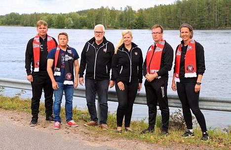 VaLePan, IPV:n ja Ruokolahden Rajun seuraväki tapasi Imatralla ja sopi VaLePan peliin liittyvistä käytännön asioista.