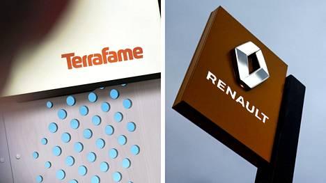 Terrafame ja Renault aloittavat akkumateriaaleja koskevan yhteistyön.