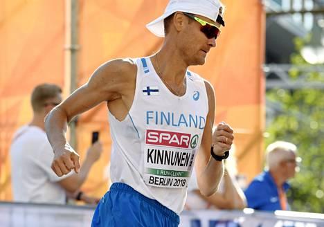Jarkko Kinnunen edustaa Suomea elokuussa alkavissa olympialaisissa.