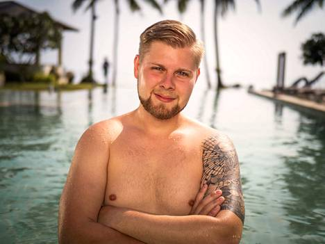 """Petteri """"Grönä"""", 24, on kotoisin Nurmijärveltä. Petteriä kiinnostavat itsensä tyylikkäästi kantavat naiset."""