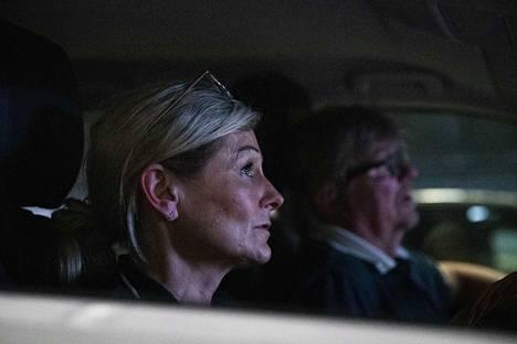 Pia ja Pekka Larsen tulivat kokemaan elokuvista tutun elämyksen.