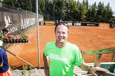 Veli Paloheimo yllättyi, kuinka suosituksi Tampere Openin suorat lähetykset ovat muodostuneet.