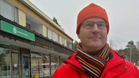 Elinvoimapäällikkö Arto Kummala avasi Multian joulukauden viime marraskuussa.