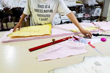 Kangasalla toimiva Tam-Silk valmistaa tuotteensa Suomessa.