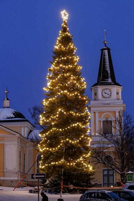 Tampereen joulupuu.