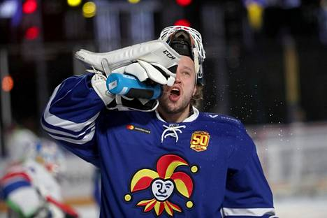 Karri Rämö pelasi Jokereissa kaudella 2017–18.