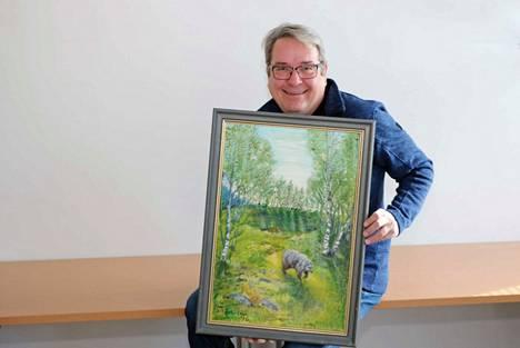 Mika Moisander haluaa lahjoittaa Simo Kuulusan Karhu-maalauksen sellaiselle henkilölle tai yhteisölle, joka sitä osaa arvostaa ja pitää sitä esillä, esimerkiksi kotinsa seinällä.