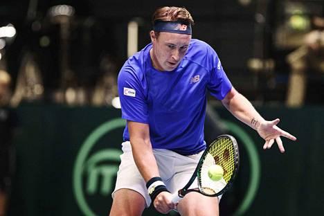 Henri Kontinen eteni väliaikaisen ranskalaisparinsa kanssa Tukholman ATP-turnauksen välieriin.