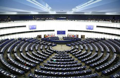 Suomi näyttää käyttävän puheaikansa yhden EU-maan parjaamiseen. Ja sitten silmät ymmyrkäisenä ihmettelee, kun Unkari potkaisee takaisin. Kuva Euroopan parlamentista.