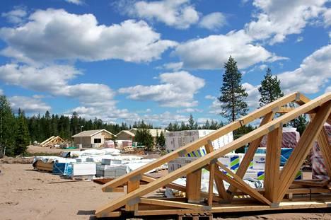 Omakotitalon rakentamiseen otetaan Sastamalassa lainaa keskimäärin 200000–350000 euron välillä.
