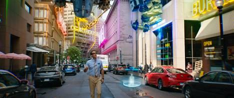 Ryan Reynolds näyttelee videopelin sivuhahmoa, joka haluaa elää omaa elämäänsä.