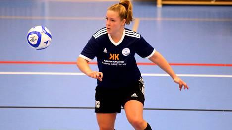 Milla Vähälä teki kaksi maalia Futsal-liigan ottelussa Torniota vastaan.