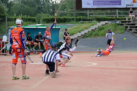 Kankaanpään Maila pelasi kesän ainoana harjoituspelinsä viikonloppuna Seinäjoella.
