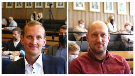 Valkeakosken uuden kaupunginhallituksen puheenjohtajaksi valittiin maanantaina Mikko Franssila (kok) ja kaupunginvaltuuston puheenjohtajaksi Joni Kumlander (sd).