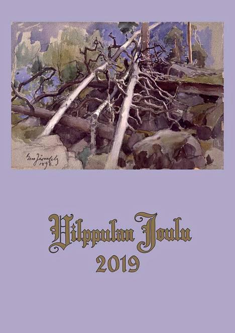 Vilppulan Joulun kannessa on Eero Järnefeltin teos Kelopuita vuodelta 1896.