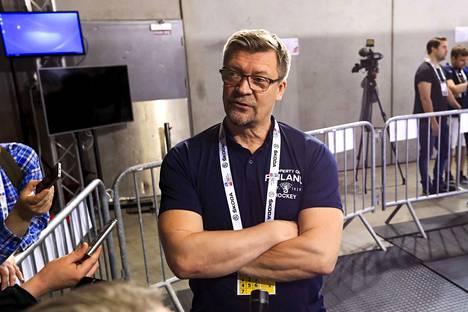 Jukka Jalonen luotsasi Leijonat MM-finaaliin.