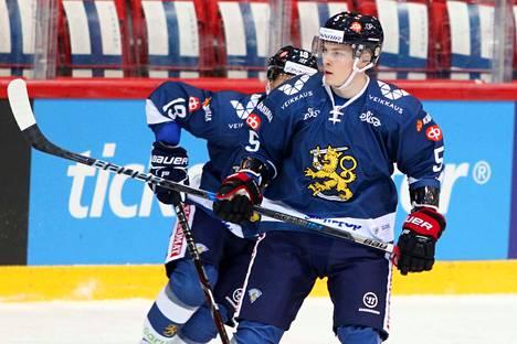 Juuso Vainio on sovitellut maajoukkuepaitaakin päälleen, mutta Porissa hän ei tykkää pelata.