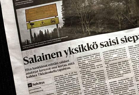 Helsingin Sanomat kertoi joulukuussa 2017 viestikoekeskuksen toiminnasta.