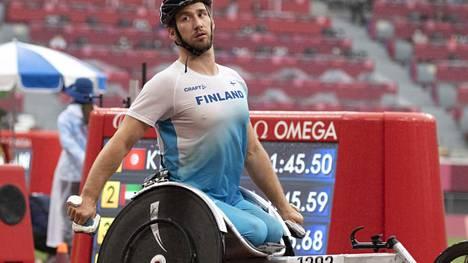 Henry Manni viimeisteli suomalaisten yleisurheilusuoritukset Tokion paralympialaisissa.