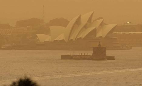 Tuli riehuu noin 15 kilometrin päässä Sydneyn keskustasta.