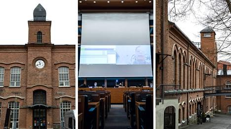 Tampereen kaupunginvaltuuston kokous järjestettiin maanantaina osin etänä, osa valtuutetuista oli läsnä.