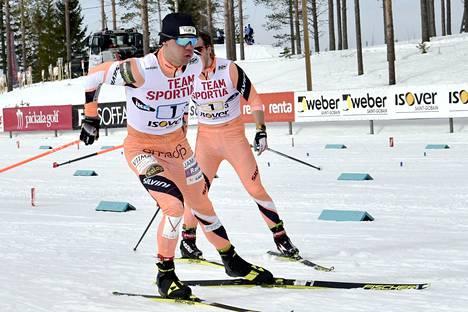 Antti Ojansivu lähetti Markus Vuorelan ankkuriosuudelle.