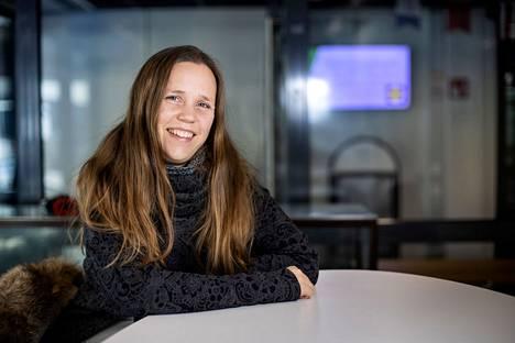 Kansainvälisyys on osa liiketalouden koulutuksen arkea. – Opiskelijat voivat tehdä verkossa yhteistyötä vaikka saksalaisten opiskelijakollegoiden kanssa, sanoo Milka Vahtoranta.